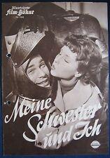 Filmprogramm Illustrierte Filmbühne IFB 2383 Meine Schwester un ich  S.Ziemann
