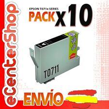 10 Cartuchos de Tinta Negra T0711 NON-OEM Epson Stylus DX6000