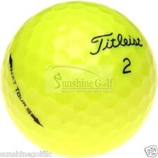 24 Mint Titleist NXT Tour S YELLOW AAAAA Used Golf Balls