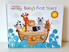 Marzipan Nursery Baby's First Years Album Record Keepsake Book. From Birth to 5