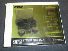 FOX Royale sistema Fox BOX MEDIUM Carp Fishing Tackle