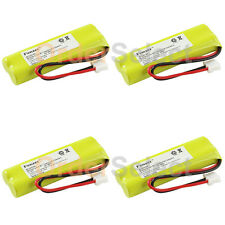 4x Cordless Home Phone Battery Pack for Vtech BT-18443 BT-28443