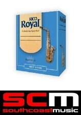 NEW RICO ROYAL TENOR SAXOPHONE 2.5 REEDS BOX OF 10 TO CLEAR SAX REED SALE