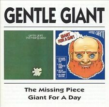 GENTLE GIANT The Missing Piece/Giant for a Day! CD