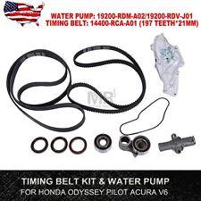 SET Timing Belt kit & Water Pump For 2005-2012 Honda Pilot Odyssey 3.5L Acura V6