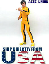 """Bruce Lee 1/6 Game of Death Yellow Suit For 12"""" Male Figure - U.S.A. SELLER"""