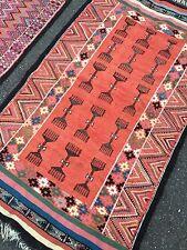 Tapis X21 Ancien Noué Fait Main Arabe Kelim Perse Arabic Carpet Prière