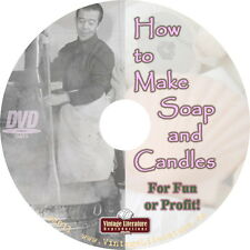 How To Make Homemade Soaps & Candles { Home Business Idea } on
