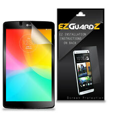 2X EZguardz LCD Screen Protector Cover HD 2X For LG G Pad F 8.0 Tablet  (Clear)