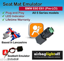 SEAT Occupancy Mat Emulatore For BMW 5 Serie E60 E61 Airbag Sensor Bypass