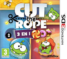 ELDORADODUJEU   CUT THE ROPE 3 IN 1 Pour NINTENDO 3DS NEUF VF