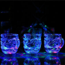 New Clear Dragon LED Light Vodka Whiskey Shot Glass Cup Drinking Ware Home Bar