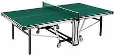 Table Tennis Table Sponeta Profiline 'Automatic Compact Indoor S7-63i Blue Green