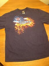 HARLEY DAVIDSON MOTORCYCLES PAT ROGERS SPEEDWAY, CONCORD NC T SHIRT XL