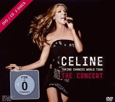 "CELINE DION ""TAKING CHANCES WORLD TOUR..."" DVD+CD NEW+"