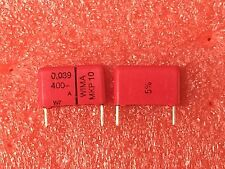 WIMA MKP10 0.039uF 400V 5% Polypropylene Capacitor Audio low dissipation  Qty 10