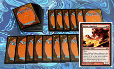 mtg RED DECK Magic the Gathering rare cards lot CLEARANCE
