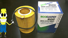 Premium Oil Filter for BMW 530i with 3.0L Engine 2001-2005 Single