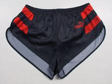 70er bis 80er Jahre Puma Glanz Sprinter Shorts Grösse L shiny H225
