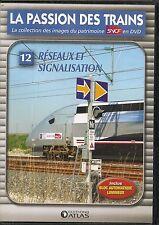 DVD ZONE 2--DOCUMENTAIRE--LA PASSION DES TRAINS VOL 12--RESEAUX ET SIGNALISATION