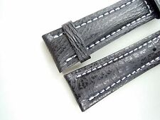 REAL SHARK STRAP, black, 20/18 (120/80) specially made for Breitling watches