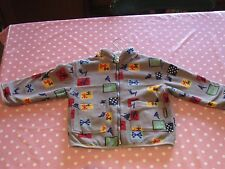 Boy's age 2 Gymboree Cosy Reversible Winter Coat in brilliant condition