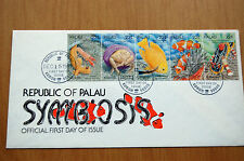 Fish Marine Life Symbiosis Republic Of Palau 1987 Cover