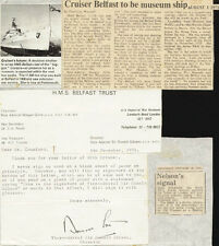 DONALD GIBSON - TYPED LETTER SIGNED 11/05/1971
