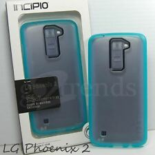 INCIPIO LG M1V Octane Clear Slim Bumper Case for LG K8, LG Phoenix 2  Frost Blue