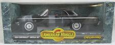 1:18 Ertl American Muscle Black 1964 Chevrolet Impala SS Chevy 7838