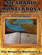 Silabario Monterrosa : Desarrollo Del Proceso de Lectoescritura, Letra de...