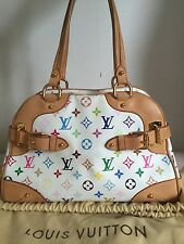 Authentic Louis Vuitton Monogram Multicolore Claudia Bag