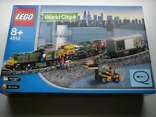 "LEGO World City - 4512 - Cargo Train ""Neu & OVP"""