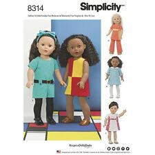 SEWING PATTERN! MAKE DOLL CLOTHES! FITS AMERICAN GIRL MELODY~JULIE~KIT! OUTFITS!