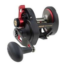 Penn Fathom 15 Lever Drag Saltwater Fishing Reel - Line Capacity Rings