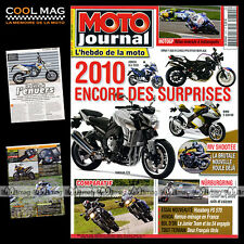 MOTO JOURNAL N°1870 HUSABERG FS 570 BMW F 800 R GS GRAND PRIX INDIANAPOLIS 2009