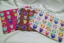 Cute Owl Bag/Tab Bag