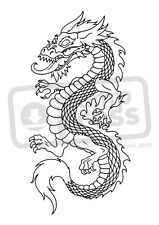 A7 'Chinese Dragon' Unmounted Rubber Stamp (SP001989)