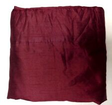 Royal Velvet Encore Rod-Pocket/Back Tab Curtain Panel Palmetto Red 24x82IN A52