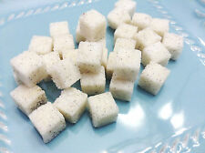 Vanilla Bean Sugar Cubes (120) Cocktail Tea Coffee Sweetener Madagascar Vanilla