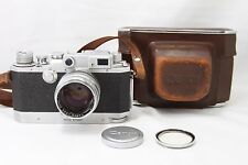 **Excellent** Canon IV sb 4sb Rangefinder camera w/Lens canon 50mm 1:1.5 #E018