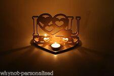 Te Quiero,I Love You,portavelas pequeño,sostenedor de vela,decoración