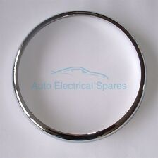 "CHROME 7"" HEADLAMP / HEADLIGHT RIM for LOTUS Elan Europa Elite / MGB MGB GT"