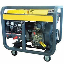 Diesel Generator & Welder with Cart - 6,500 Watts - Electric Start - 3 Gallon