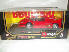 Burago 1552 Ferrari F50 1995 Red 1/24 Mint & Boxed