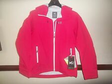 Millet LD FITZ ROY JKT Womens jacket size UK 14 L Red - azalea