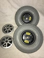 ~Pr1mo Durotrap 3.00-4 Wheels & Tires for Power Wheelchair Jazzy Select 6 Solid~