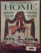 The American Home 1961 Christmas Fruitcake Steamed Pudding Cookies Wild Game