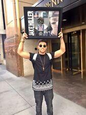 Jake Miller Us Against Them Platinum Record Album Disc Music Award MTV RIAA