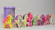 Lotto 8 Mio Mini Pony My little pony Hasbro China G2'97+castello collezione -187
